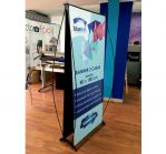 Stand Display dos lados 80x180cm