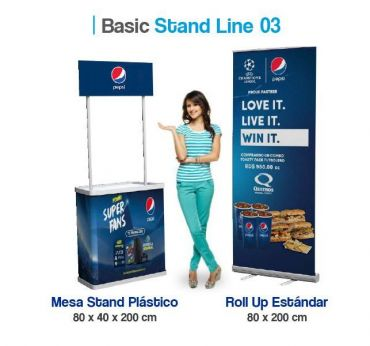 Basic Stand Line 03