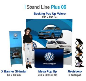Plus Stand Line 06