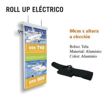 Roll Up techo 80 x 200 cm