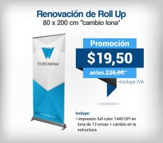 Renovación de Roll Up